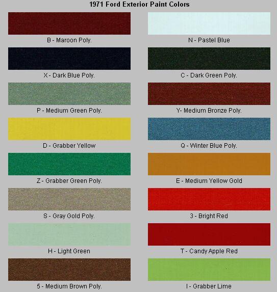 Calypso Green Paint Code